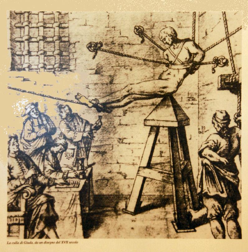 tortura ed esecuzione del pene