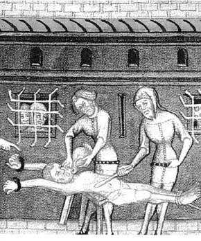 tortura ed esecuzione del pene)